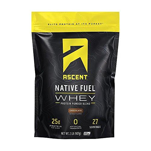 Ascent Protein Subida Combustible Nativo De Proteína De Suero En Polvo 2 Libras / 908g 2 lb (908g) Chocolate
