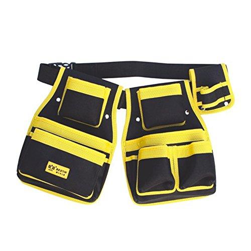4TOOL Pouch Set Taille Tasche Tools Bauchtasche Hand Tasche Oxford Material Composite Werkzeuggürtel doppelt