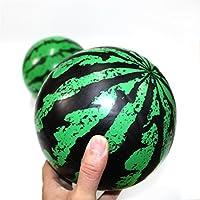 grofitness 6inch sandía pelotas de playa bebé Niños Agua polo pelotas bolas de verano divertido inflable con bomba, 6pack