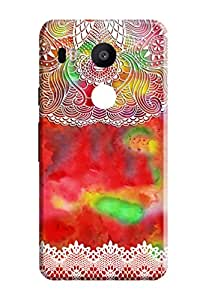 Nexus 5X Hard Cover Kanvas Cases Premium Quality Designer 3D Printed Lightweight Slim Matte Finish Back Case for Nexus 5X