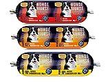 Perfecto Dog Hundewurst mit Hähnchen Mix Hundefutter, Feuchtfutter Größe 9 x 900g