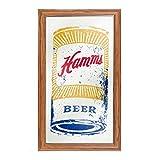 Markenzeichen Gameroom ham1500-can Hamm 's gerahmt Logo Spiegel–Kann