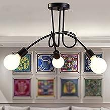 Amazon.es: lamparas de techo para comedor - Luces de Techo