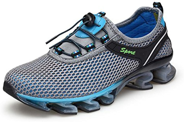 Gomnear Laufschuhe Männer leicht Mode Atmungsaktiv Sportschuhe
