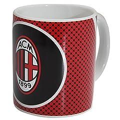 Idea Regalo - Tazza Caffè/Tazza con motivo INGHILTERRA CALCIO AC Milan rosso/bianco/nero Taglia unica