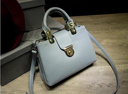 X&L Frauen's Mode Handtasche Schulter Messenger bag gray