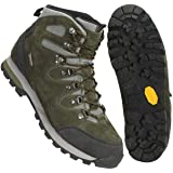 Mountain Warehouse Outdoor Womens Hiking Shoes - Suede & Mesh Upper, Mesh Lined Trainers - for Walking