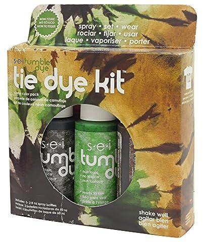 SEI Dye Tumble Dye Craft and Fabric Tie-Dye Kit 2 Oz 3 kg-Camo