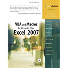 VBA and Macros for Microsoft Office Excel 2007 (Business Solutions)