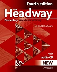 New Headway: Elementary Fourth Edition: Workbook + Audio CD with Key