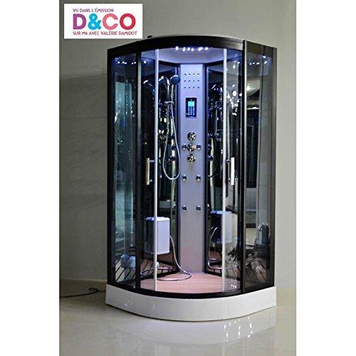 Cabine de douche Hammam 100 x 100 full options