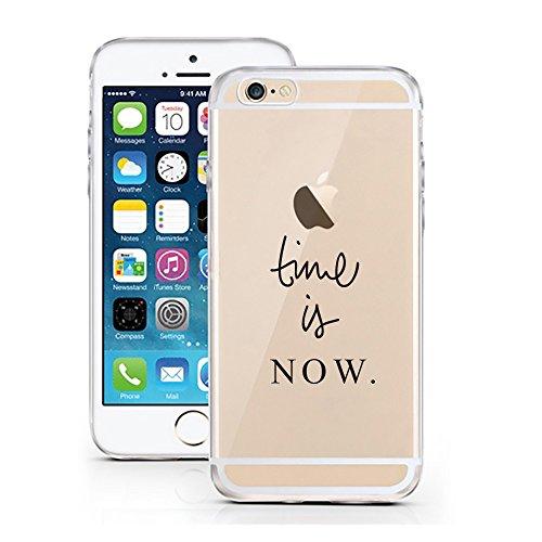 iPhone 5 5S SE Hülle von licaso® für das Apple iPhone 5S aus TPU Silikon I Love you to the Moon & Back Liebe zum Mond & zurück Muster ultra-dünn schützt Dein iPhone 5SE & ist stylisch Schutzhülle Bump Time is now