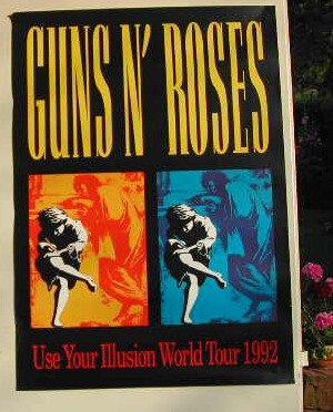 "Guns N'Roses-Poster, 59 x 84 cm, Poster """