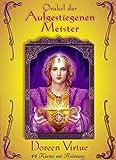 Orakel der Aufgestiegenen Meister - 44 Karten mit Anleitung - Doreen Virtue
