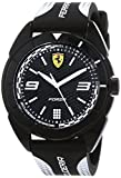 Scuderia Ferrari Reloj Analógico para Hombre de Cuarzo con Correa en Silicona 830519