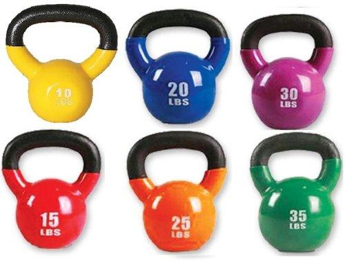 M.A.R International Ltd. Kugelhanteln Cardio Fitness-Training-Gear 25lbs 25lbs orange