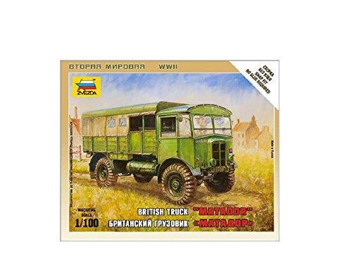 Zvezda - Z6175 - Maquette - Char d'assaut - Camion Britannique Matador