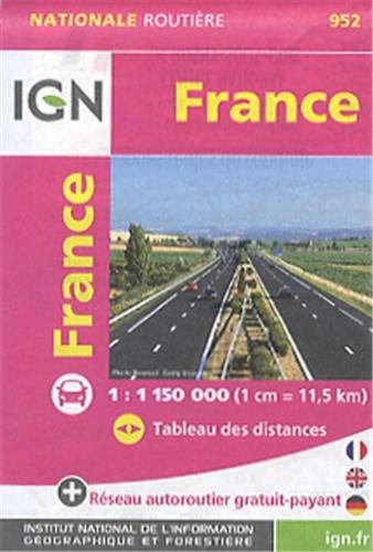 952 MINI FRANCE  1/1M15 par IGN