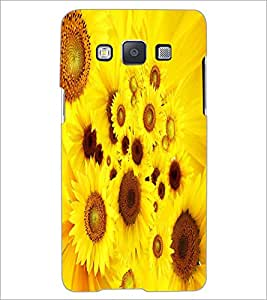 PRINTSWAG YELLOW FLOWERS Designer Back Cover Case for SAMSNUG GALAXY E5