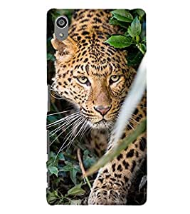printtech Nature Animal Tiger Back Case Cover for Sony Xperia Z5 Premium