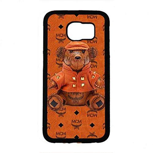 brown-toy-bear-serizes-logo-mcm-tablet-custodia-huelle-for-samsung-s6-custodia-cover-custodia-huelle