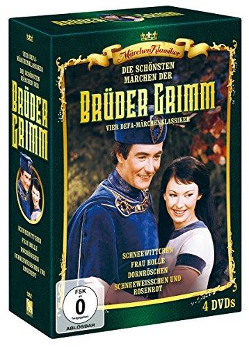 Die Schönsten Märchen der Brüder Grimm-(Box 1) [4 DVDs]