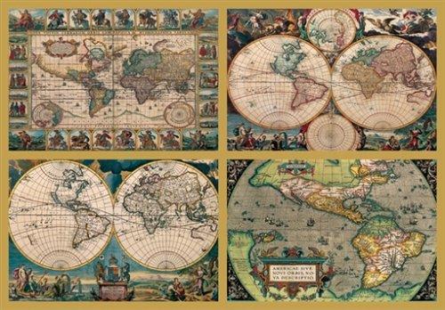 Ravensburger - Historische Weltkarten, 18000 Teile Puzzle
