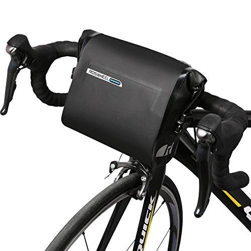 DCCN Lenkertasche Wassdichte Fahrradtasche Satteltasche Handy Tasche für Mountain Bike