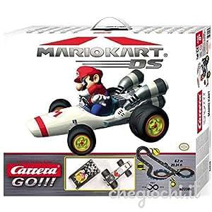 circuit carrera go mario kart mario wario amazon. Black Bedroom Furniture Sets. Home Design Ideas