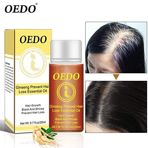 Ginseng Anti Cheveux Perte d'huile essentielle Essence de croissance capillaire