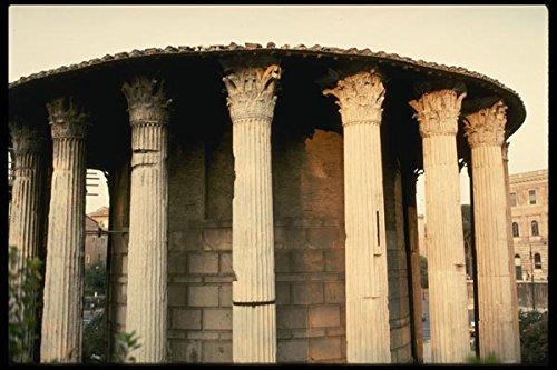 149007-vesta-temple-remains-a4-photo-poster-print-10x8
