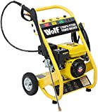 Wolf 186BAR 2700PSI 6.5HP 4 Stroke Petrol Driven Pressure Power Washer with Heavy Duty Lance, Quick Fit Nozzles & 7 Metre High Pressure Hose & Zero Gravity Pull Pump Self Priming - 2 Years Warranty