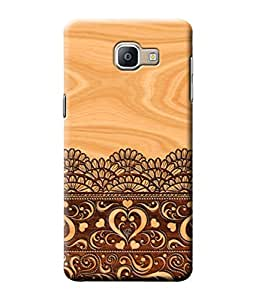 Be Awara Lace on Wood Printed Back Case Cover for Samsung Galaxy A9 Pro