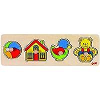Goki Puzzle con tiradores - Peluches y Puzzles precios baratos