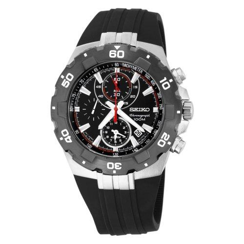 seiko-snad61-mens-quartz-black-dial-urethane-strap-watch