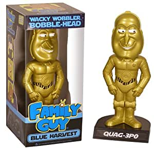 "Family Guy - 6"" Star Wars Bobble Heads Quag-3PO"