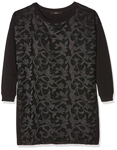 Guess Sumie Dress-W63k0tk4qm0, Robe Femme Noir (A996 NOIR/JET BLACK A996)