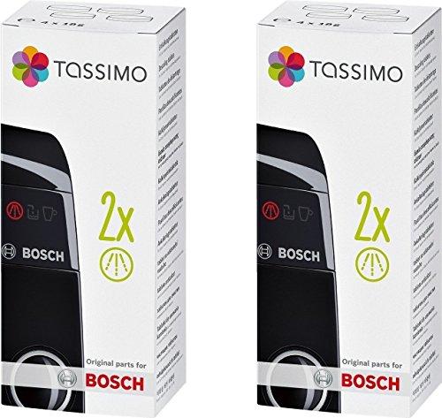 Lot de 2 Tassimo Bosch Pastilles détartrantes Détartrant tcz6004 00311530 4 x 18