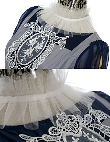 FairyLotus - Robe - Femme Large Grey + Dark Blue