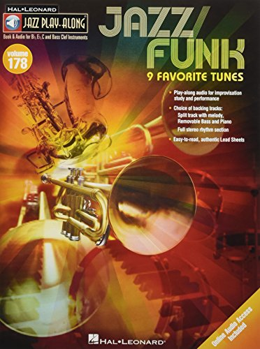 Jazz/Funk: For B Flat, E Flat, C and Bass Clef Instruments