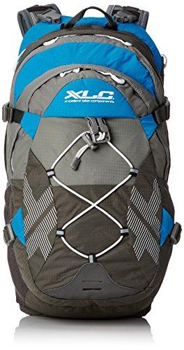 XLC Unisex- Erwachsene Bike Rucksack BA-S48, Grau Blau, 270x470x220