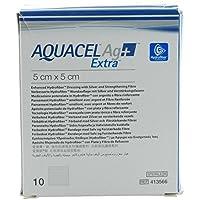 AQUACEL Ag+ Extra 5x5 cm Kompressen 10 St Kompressen preisvergleich bei billige-tabletten.eu