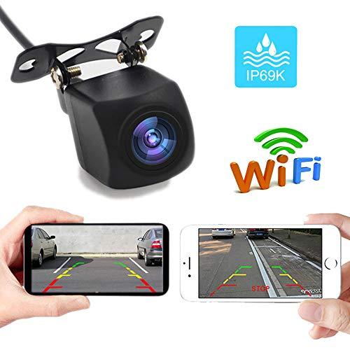 PolarLander WiFi Caméra de recul Caméra Star Night Vision Caméra de recul Vue arrière du Corps Mini Tachographe étanche à l'eau pour iPhone et Android