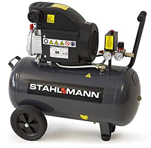 stahlmann kompressor 50l ac3000 50 druckluftkompressor. Black Bedroom Furniture Sets. Home Design Ideas
