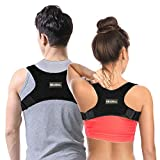 Reazeal Back Posture Corrector for Men Women FDA-Approved/Fully-Adjustable·Lightweight Back Brace for Neck, Shoulder