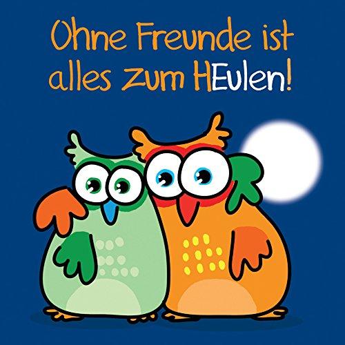 (Ohne Freunde ist alles zum HEulen!: Cartoon-Geschenkbuch)