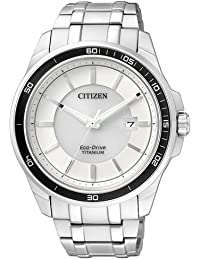 Citizen Herren-Armbanduhr Analog Quarz Titan BM6920-51A