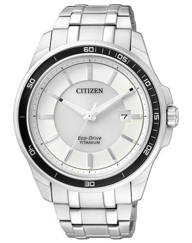 Citizen Herren-Armbanduhr XL Super Titanium Analog Quarz Titan BM6920-51A