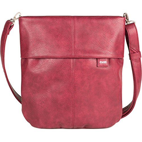 zwei Mademoiselle M12 Borsa a tracolla 31 cm Blood (Rot)