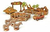 Tescoma 631446 Delicia Kids Set Tagliabiscotti Parco Zoo Safari Al Pan Di Zenzero